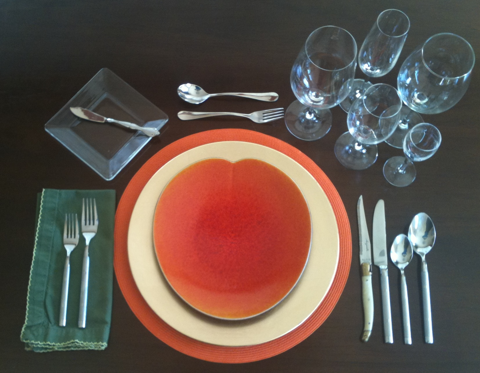 setting a formal table | Shannon Del Vecchio\'s blog