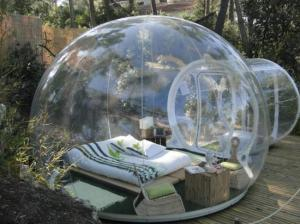 bubble hut